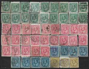 COLLECTION LOT OF 52 CANADA 1903+ STAMPS CV + $81 CLEARANCE