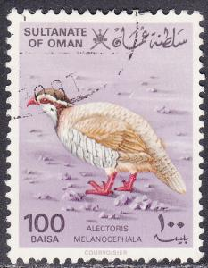 Oman 233 USED 1982 Alectoris Melanocephala