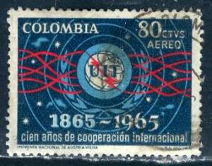 Colombia; 1964: Sc. # C467: O/Used Cpl. Set