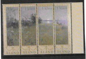 2003   ALAND  -  SG  229 / 232  -  LANDSCAPE IN SUMMER  -  UMM -  LOT B
