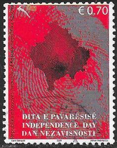 U.N. Kosovo 95b Used - Independence Day