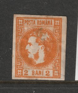 Romania a MH 2b from 1868