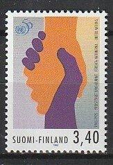 1995 Finland - Sc 978 - MNH VF - 1 single - UN - 50th anniversary