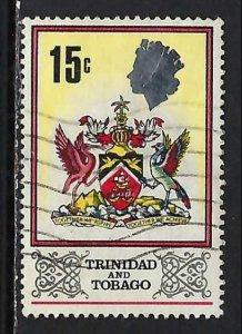 TRINIDAD & TOBAGO 151 VFU ARMS Z2217-13