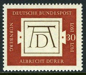 Germany 1070, MI 677, MNH. Albrecht Durer,painter and engraver ,500th ann. 1971