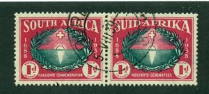 South Africa 1939 #B10 U SCV(2020) = $9.00