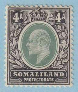SOMALILAND PROTECTORATE 45a  MINT HINGE REMNANT OG * NO FAULTS EXTRA FINE !