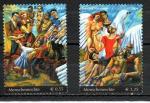 United Nations - Vienna 355-356 MNH