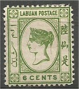 LABUAN 1879-1883, MH, 2c, Queen Victoria Scott 1,5,16 (Watermark unknown)