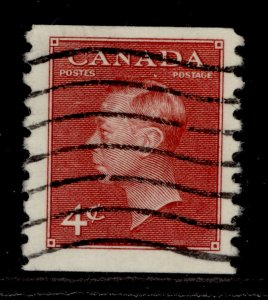 CANADA SG422, 4c carmine-lake, FINE USED. Cat £11.