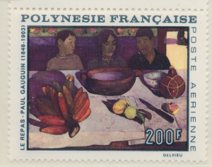 French Polynesia Stamp Scott #C-48, Mint Never Hinged - Free U.S. Shipping, F...