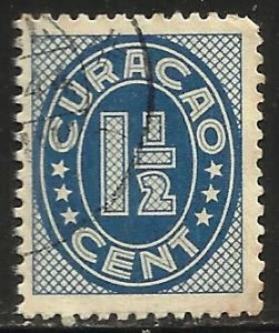 Netherlands Antilles 1936 Scott# 128 Used (perfs)