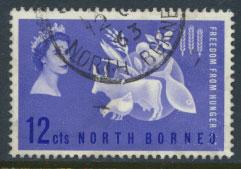 North Borneo SG 407 SC# 296 Freedom from Hunger Used  see details
