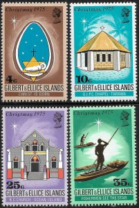 Gilbert Islands # 249 - 52 Mint Never Hinged