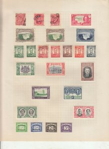 SOUTHERN RHODESIA 2 ALBUM PAGE  VALUES MOSTLY 1937-55, MINT,/USED