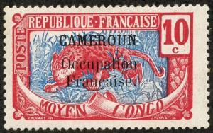 Cameroun, Scott #134, Unused, Hinged