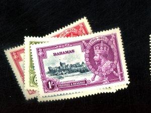 BAHAMAS #92-95 MINT XF OG LH Cat $25