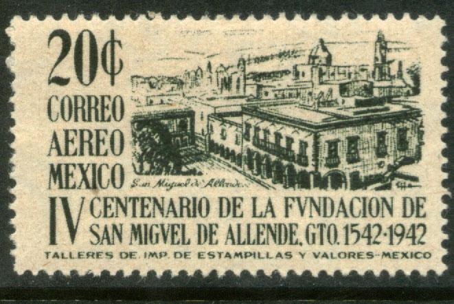 MEXICO C129, 20c San Miguel de Allende 400th Anniv MINT, NH.. F-VF.