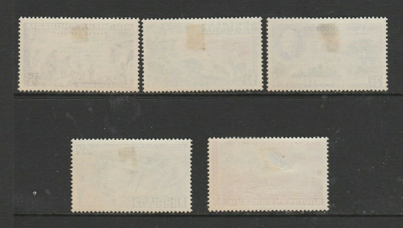Southern Rhodesia 1953 Rhodes birth Centenary MM SG 71/5
