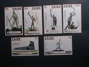ZAIRE-1980 SC# 1115-20-WORLD FAMOUS KINSHASA MONUMENTS -MNH SET VERY FINE