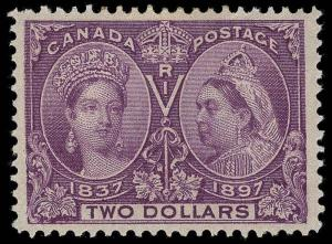 Canada Scott 62 Gibbons 137 Mint Stamp (4)
