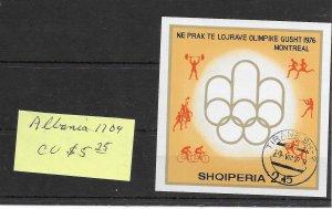 Albania #1704 CTO - Sourvenir Sheet - CAT VALUE $5.25