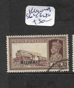 KUWAIT (P1702B)  ON INDIA KGVI 4A TRAIN SG 43  VFU