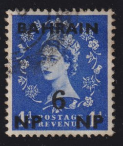 Bahrain 106 Queen Elizabeth II O/P 1957