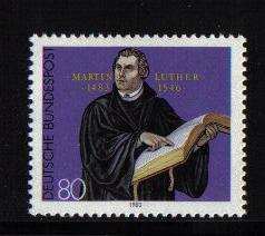Germany 1983  MNH Martin Luther  complete