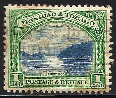 Trinidad and Tobago 1935 Scott# 34a Perf 12 Used