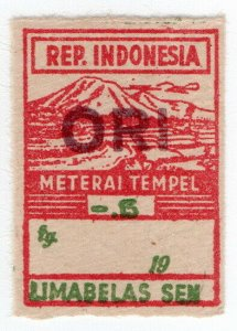 (I.B) Indonesia Revenue : General Duty 15c (Meterai Tempel)
