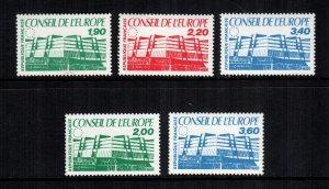 France 1O40 -  1O44  MNH cat $ 5.00