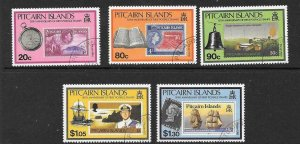 PITCAIRN ISLANDS SG380/4 1992 WILLIAM BLIGH  FINE USED