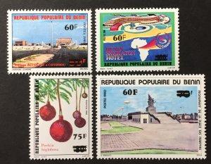 Benin 1983 #539-42, MNH, CV $8.40