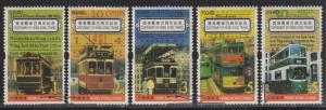 Hong Kong 2004 Centenary of Trams Extended Stamps Set of 5 Fine Used