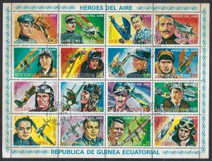 Equatorial Guinea MLH Heroes of the Air unlisted BIN $7.00