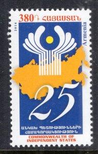 Armenia 1066 MNH VF
