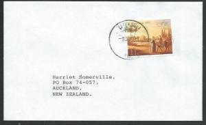 FIJI 1991 cover to NZ - VATUKULA cds.......................................61769