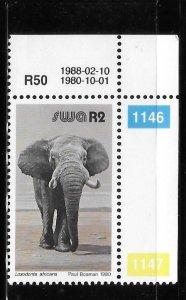 South West Africa 1980-85 Elephant Sc 463 MNH A1692