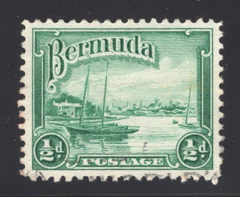 Bermuda #105 Blue Green - Barely Canceled