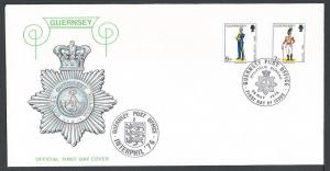 Great Britain-Guernsey, FDC