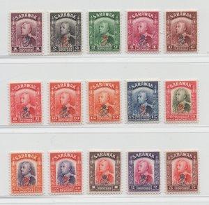 Malaya Sarawak - 1947 - SG 150-64 - MNH #7