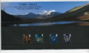 STAMP STATION PERTH Great Britain # Wales Definitive Presentation Pack MNH