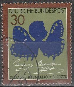 Germany  #1279 F-VF (S4539)