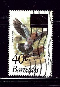 Barbados 564 Used 1981 surcharge