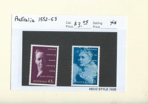 Australia 1552-1553  MNH