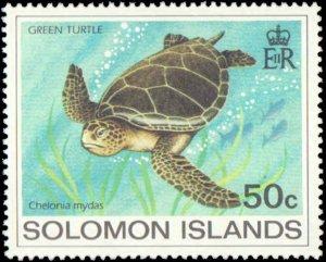1983 Solomon Islands #489-492, Complete Set(4), Never Hinged