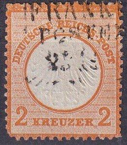 Germany #8 F-VF Used CV $165.00 (Z4481)
