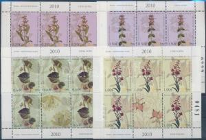 Montenegro stamp Flower minisheet set MNH 2010 Mi 229-232 WS195831