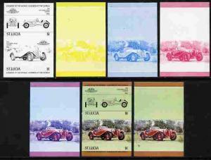 St Lucia 1984 Cars #1 (Leaders of the World) $1 Alfa Rome...
